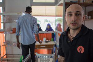 Volontario ISF in azione in Somaliland